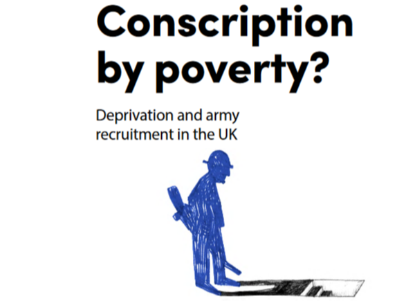 Conscription by poverty report